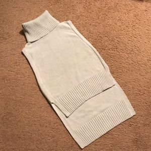 PXXS Banana Republic mint sleeveless hi-Lo sweater